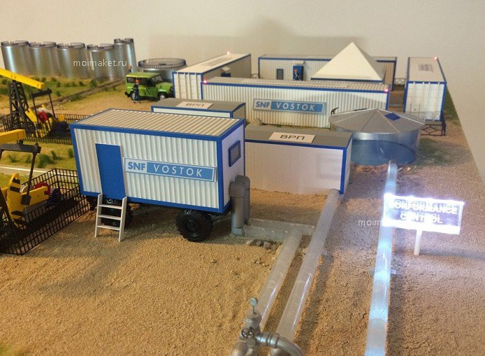 Model of oil extraction