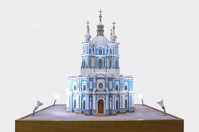 Cathedral model illumination