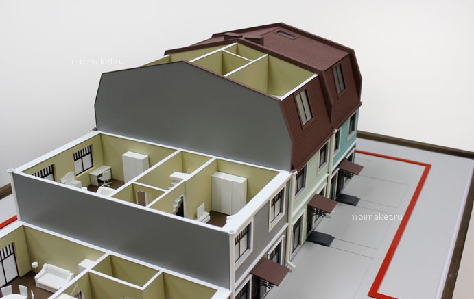 Townhouse layout model