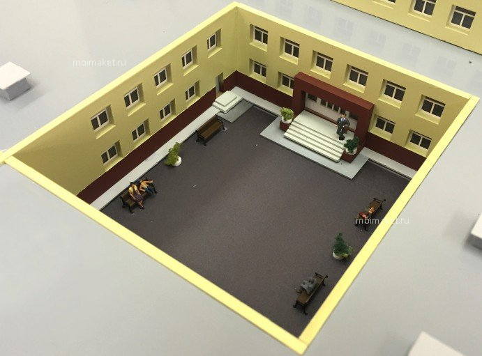 School entry on the model