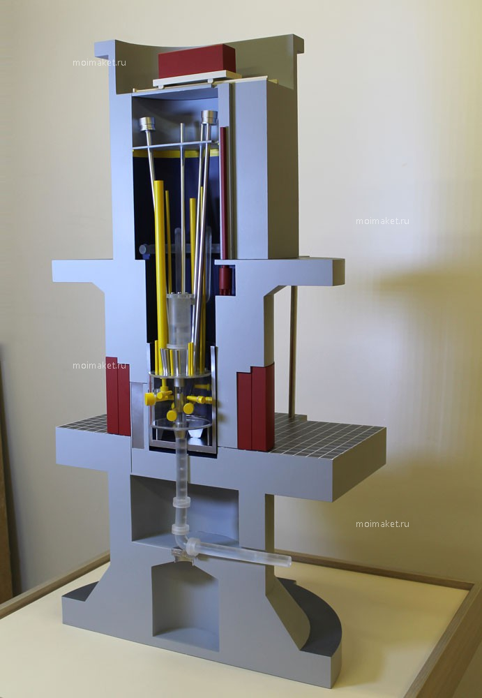 Model of nuclear reactor