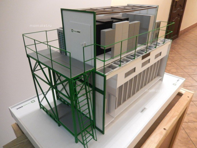 Model of data processing center