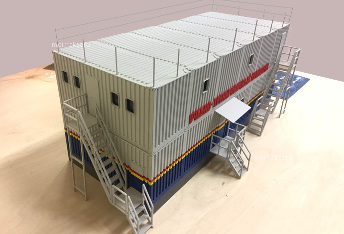 Container model – training building