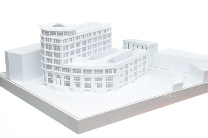 Model of veterinary station