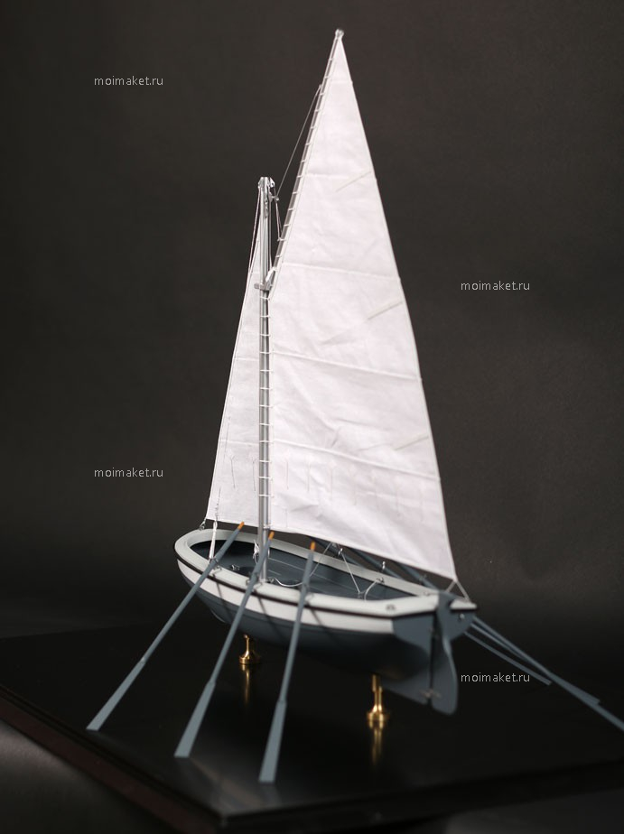 Helm on the boat model