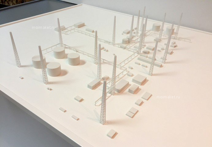 Model of industrial plan