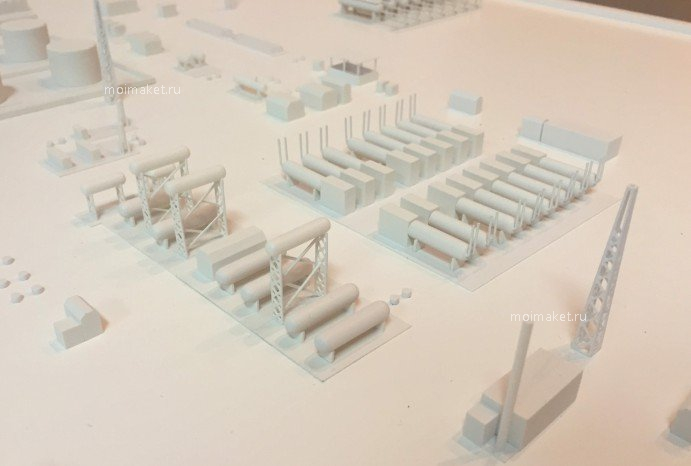 Model of white facilities