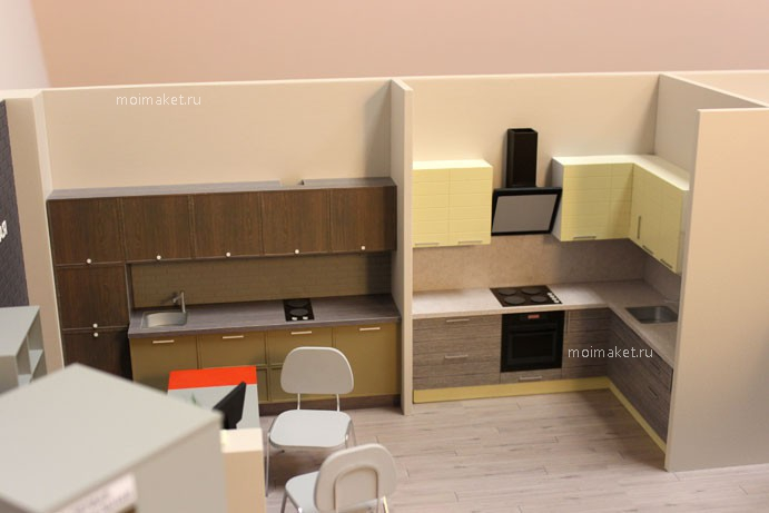 Kitchen samples for furniture model 1