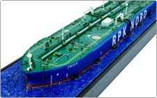 "Model of ""Umba"" tanker - фото"