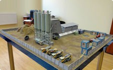 Model of concrete plant - фото