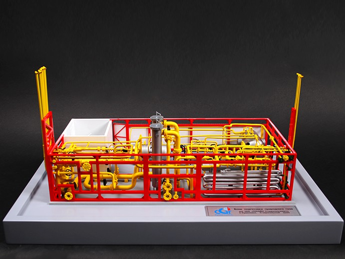 Gas Substation Model - photo