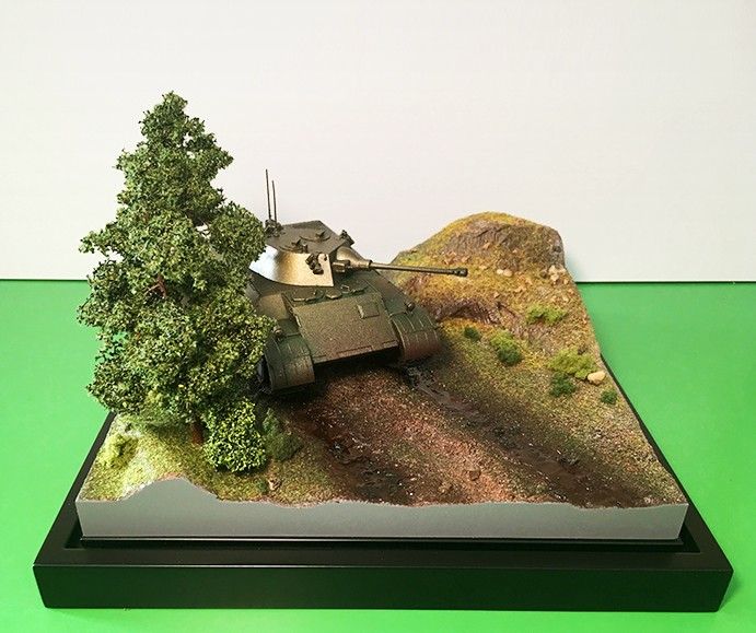 Armored fighting vehicle model - photo