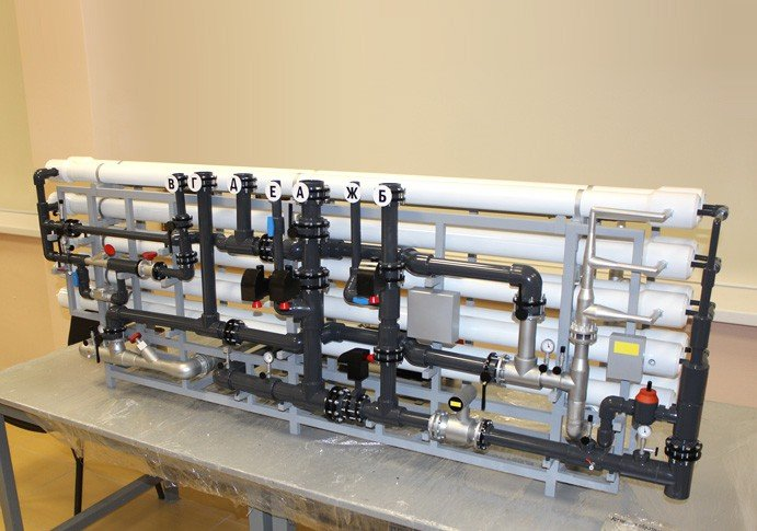 Model of reverse osmosis - photo