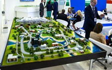 Model of railway for Gazprom