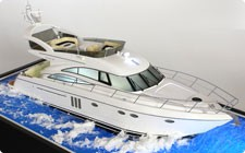 Princess 58 yacht model