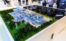 LNG facility model for Gazprom